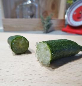 Citron caviar chartreuse coupé