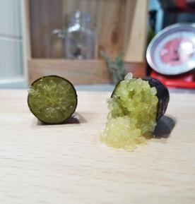 Citron caviar Emerald coupé