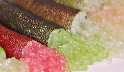 Véritable citron caviar d'Australie disponible prochainement