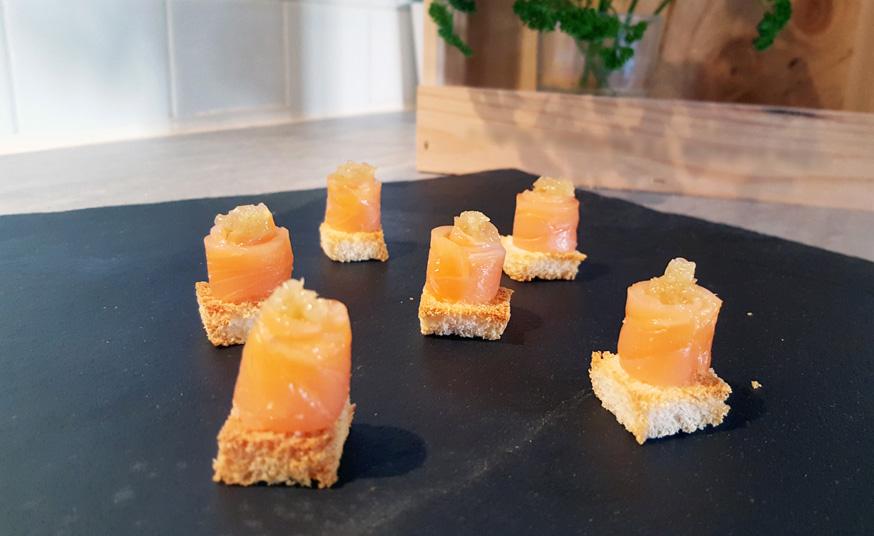 recette au citron caviar